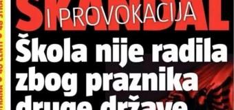 """Përsëri provokim – Flamuri shqiptar në Tuz shkakton """"Skandal dhe provokim"""""""