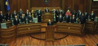 Votohen institucionet e reja kosovare, Mustafa kryeministër , Veseli kryeparlamentar