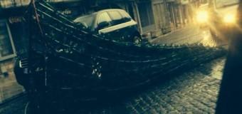 Bredhi i Vitit të Ri bllokon rrugën – Moti i lig në Ulqin  (foto, video)