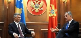 Marrëdhëniet Kosovë-Mali i Zi pa probleme të hapura – Video nga takimi Thaçi Gjukanoviq