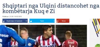 """Mediat kosovare """"sulmojnë"""" yllin e futbollit nga Ulqini"""