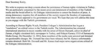 SHQETËSIMET E KONGRESIT AMERIKAN MBI LIRINË E MEDIAS NË TURQI