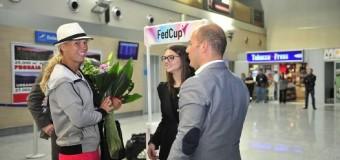 Karolina Voznjacki mbërrin  në Ulqin (foto)