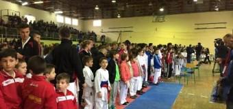 """Salla e shkollës """"M.Tito"""" e vogël për të zënë të gjithë dashamirësit e karatesë  – Mbahet """"ULQINI OPEN 2015"""" (foto)"""
