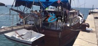 Ilir Meta bën xhiro në Ulqin me anijën e Ardiana Karamanagës (Foto + Video)