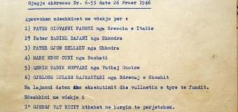 Urdhëri i Enver Hoxhës për ekzekutimin e shqiptarit nga Mali i Zi (dokument)