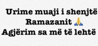 Nrekiq, Gjeka, Cungu dhe Mehmeti  urojnë për fillimin e Muajit të Ramazanit