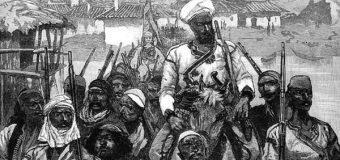 Dt. 2.10.1880, London News: Shqiptaret nga Shkodra duke kaluar Bunen për në Ulqin