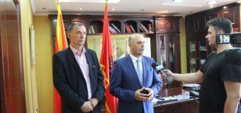 Një delegacion nga Decani po qëndron për vititë zyrtare  në Ulqin