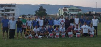 Vazhdojne donacionet per KF Otrant Olympic, të gjithë futbollisteve dhe stafit nga një telefon