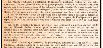Një studim i rallë francez për shtypin shqiptar të viteve 1848 – 1939