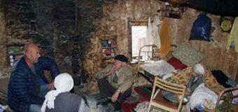 Familja Lekperaj nga Arbneshi i Krajës jeton në kushte shumë të vështira (foto)