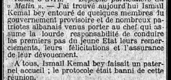 Le Matin (1913): Shpresat dhe projektet e Ismail Bej Qemalit