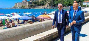 Kryetari i Kuvendit të Maqedonisë Talat Xhaferi vizitoi Ulqinin