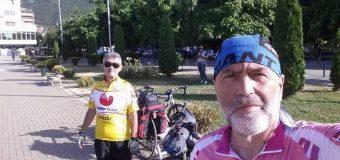Tre çiklista mbi 60 vjeç nisen nga Tetova drejt Ulqinit