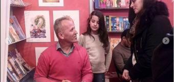 Poeti Haxhi Shabani në Panairin e Tiranës