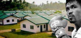 Boxeri Manny Pacquiao i Kampioni botëror ndërton falas 1.000 shtëpi për filipinasit e varfër