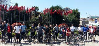 """Me 7 prill aktiviteti i përvitshëm """"Me biçikletë në Shkodër"""""""