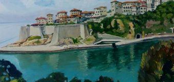 Bukuritë e natyrës shqiptare, nga Ulqini deri në Pargë,  nën penelin e piktorit Arben Kristani