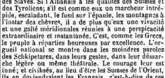 """Robert Walsh (1828): """"Shqiptarët janë racë e bukur, e guximshme, krenare dhe aventuriere"""""""