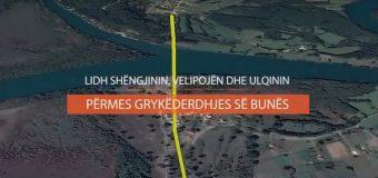 Ja si do bëhet Shëngjin-Velipojë – Rama poston videon e rrugës deri në Ulqin