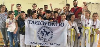Trofeui 12-të për klubin e Taekwondo-së Ulqini gjatë sezonit pranveror