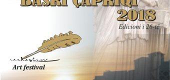 """Edicioni i 26-të i manifestimit letrar Kalimera Poetike """"Basri Çapriqi"""" më 27-29 korrik – Programi"""