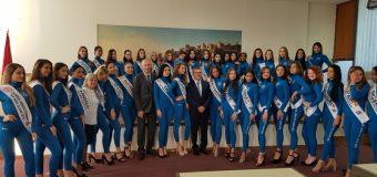 Pjesëmarrëset eeventit të bukurisë Miss Globevizituan Komunëne Ulqinit