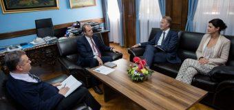 Nënkryetari i Kuvendit të MZ Genci Nimanbegu priti shefin e delegacionit të BE në Mal të Zi Aivo Orav-in
