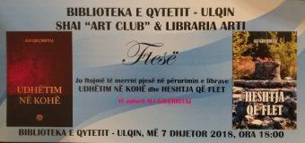 Përurohen dy librat të autorit Ali Gjeçbritaj