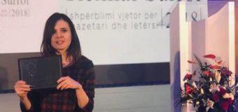 """Dafina Halili fituese e çmimit """"Rexhai Surroi"""" për gazetari"""