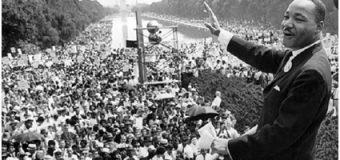 MARTIN LUTHER KING-U PËR PROTESTAT PAQËSORE ME RASTIN E 50-VJETORIT TË VDEKJES