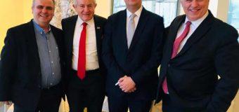 Nimanbegu u takua me liderë e veprimtarë shqiptarë në Nju  Jork