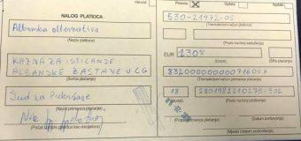 Tuz: Denim prej 230€ për ngritjen e flamurit shqiptar