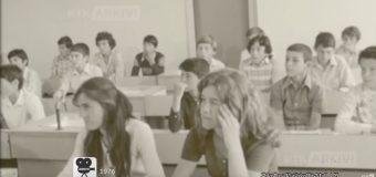 """""""Më e mira në ish Jugosllavi"""" – Material i rrallë arkivor i vitit 1976 nga shkolla e Katërkollës (video)"""