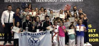 Taekwondo Ulqini në dy turne ndërkombetare