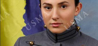 """Arelena Shala, zgjedhet rreshter majore, e parë femër nga Kosova  në Akademinë Ushtarake """"West Point"""" në SHBA"""