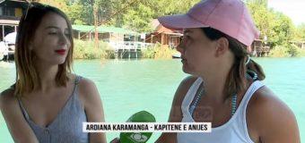 Adriana Karamanaga, kapitenia e vetme femër në Mal të Zi (video)