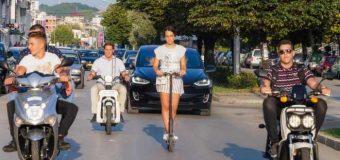 Vizitë e mirë në prezantimin e automjeteve elektrikë në Ulqin