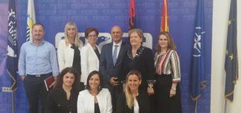 Cungu: Forca mbështet avancimin e gruas në shoqëri