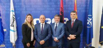 Ambasdori i Kosovës Ylber Hysa vizitë Forcës së Re Demokratike
