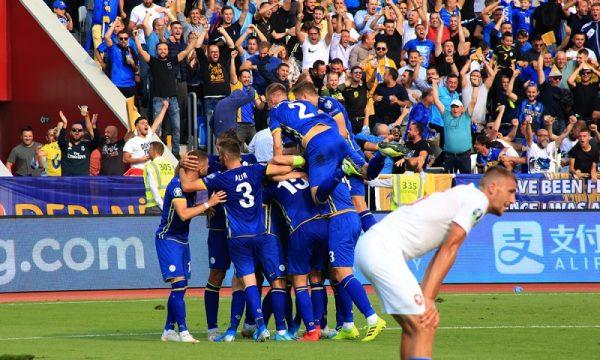 Me sy nga Shkupi – Futbollistët e Kosovës kundër Maqedonisë për Euro  2020