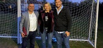 """Richard Lukaj ne bashkepunim me Fondacionin """"Lorik Cana 5"""" do të rehabilitojnë dy fusha sportive në Sukubinë"""