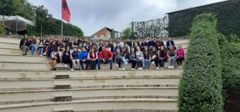 """Magjia e një udhëtimi me nxënësit gjysmë maturant të shkollës fillore """"Bedri Elezaga"""""""