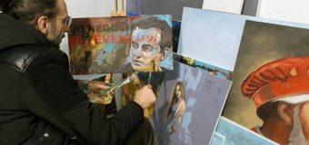 Frymëzim i piktorit nga Ulqini, punim për kryeministrin e Kosovës Albin Kurtin (foto)