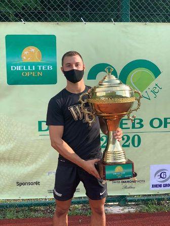 Rrezart Cungu fitues i Dielli Open në Prishtinë