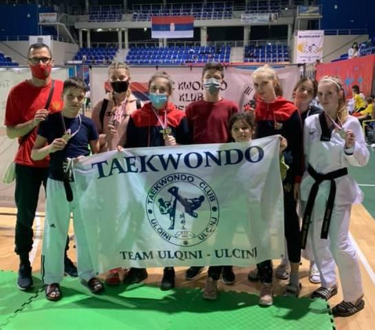 Takewondo Ulqini kthehet me 8 medale nga Zrenjanini