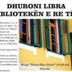Qytetaria shkodrane mbledh libra për bibliotekën e re të Tuzit